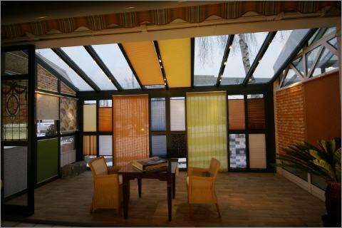 dekorativer sonnenschutz innen. Black Bedroom Furniture Sets. Home Design Ideas